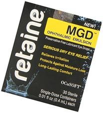 Retaine MGD Ophthalmic Emulsion Preservative-free Eye Drops