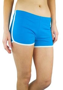 Retro Inspired Cotton Spandex Casual 'Running' Short