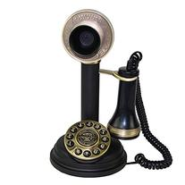LNC Retro Vintage Style Candlestick Push Button Dial Single