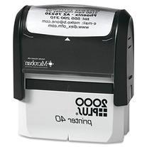 2000 Plus Printer 40 Self Inking Stamp