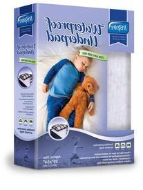 Inspire Reusable Waterproof Children's 39x54-inch Bed Pad