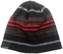 Chaos Reverse Stripe Beanie with Fleece Band, One Size,
