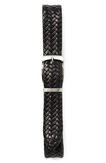Boy's Nordstrom Reversible Braided Leather Belt