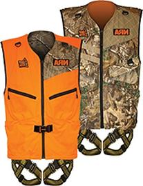 Hunter Safety System PATRIOT Harness, Reversible Vest, Large