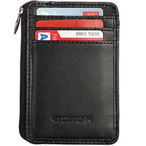 Rfid Blocking Sleeves Front Pocket Wallet for Men, Secure