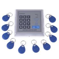 RFID Proximity Door Entry Access Control System + 10 Key