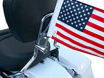 "Pro Pad RFM-RDSB5 Fixed Motorcycle Flag Mount Kit and 6"" x 9"