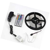 RGB 5m 3528 LED Strip Light 300leds + 44key Remote