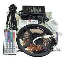 LEDwholesalers 12-Volt 16.4-ft RGB Color-Changing Kit with