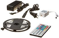 Enabled 16.4ft RGB Color Changing Kit with LED Flexible