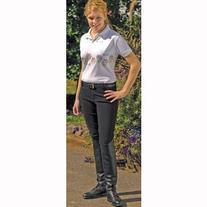TuffRider Ladies Ribb Lowrise Pull On Breeches