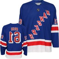 Rick Nash New York Rangers Blue Home NHL Youth Replica
