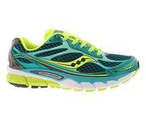 Saucony Women's Ride 7 Running Shoe,Green/Citron,8.5 M US