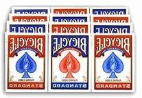 Bicycle Standard Rider Back Poker Playing Cards, 12 Decks