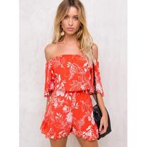 Low Rider Floral Playsuit