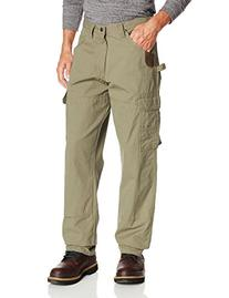 RIGGS WORKWEAR by Wrangler Men's Ranger Pant,Bark,38x36