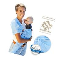 Lucky Baby Ring Sling with Breathable, Quick-Dry Mesh Fabric