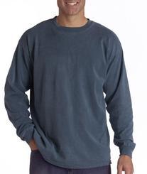 Comfort Colors Men's Ringspun Garment-Dyed Long-Sleeve T-