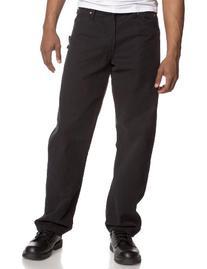 Dickies Men's Rinsed Black Sanded Duck Carpenter Jeans