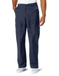 Carhartt Men's Ripstop Multi-Cargo Scrub Pant, Navy, Large