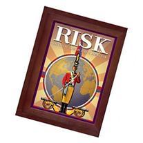 Hasbro Risk in Vintage Wood Book Edition