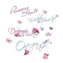Roommates Rmk1521Scs Disney Princess Quotes Peel & Stick
