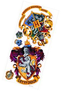 Roommates Rmk1551Gm Harry Potter Crest Peel And Stick Giant