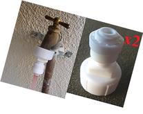 "RO System 2x 3/4"" Garden / Laundry hose adapter Quick push-"