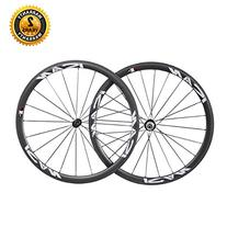 ICAN 38mm Road Bike Clincher Wheelset Carbon Shimano 10/11