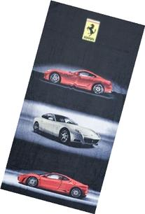 Ferrari Road Cars Beach Towel