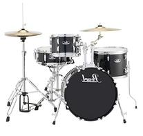 Pearl Roadshow RS584 4-Piece Drumset w/ Hardware & Cymbals