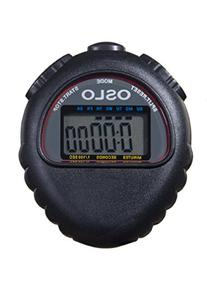 Oslo Robic M427 All Purpose Stopwatch, Black