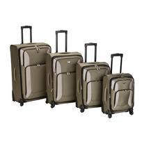 Rockland Luggage 4 Piece Impact Spinner Luggage Set