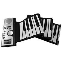 FlashingBoards Roll Up Electronic Piano/Keyboard/Organ w/