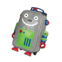 Stephen Joseph Rolling Backpack, Robot, One Size