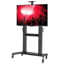 Rolling TV Stand Mobile TV Cart for 60-100 inch Flat Screen