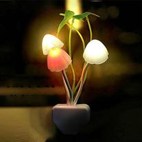 New Colours Romantic LED Mushroom Dream Night Light Bed Lamp
