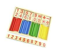 De-room building block toys calculation foot pull multiplied