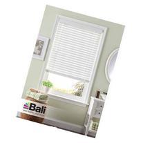 "Bali 2"" Room Darkening Faux Wood Blind, White"