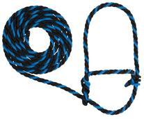 Weaver Leather Rope Cow Halter, Hurricane Blue/Black