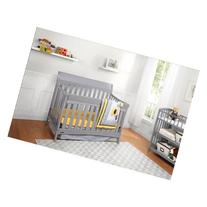Graco Rory 5-in-1 Convertible Fixed-Side Crib, Choose Your