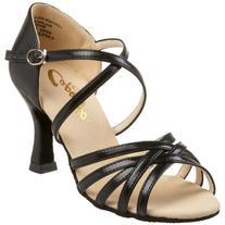 """Capezio Women's Rosa 2.5"""" Social Dance Shoe,Black,7.5 M US"""