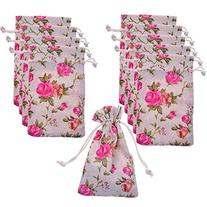BCP Pack of 10pcs 3.5 X 6 Inch Roses Pattern Double