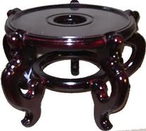 Oriental Rosewood Fish Bowl Stand