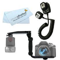 Rotating Flash Bracket Grip + eTTL eTTL2 Off Camera Flash