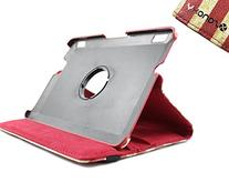 """SANOXY 360 Degree Rotating PU Leather Case Stand for 7"""" inch"""