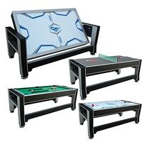 Triumph Sports 84 3-In-1 Rotating Table: Air Powered Hockey