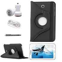 iCrown 360 Degree Rotating Ultra Slim PU Leather Case for