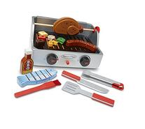 Melissa & Doug Rotisserie and Grill Wooden Barbecue Play