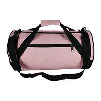 "18"" Round Duffle Bag Flexible Roll Bag Gym Traveling Bag"